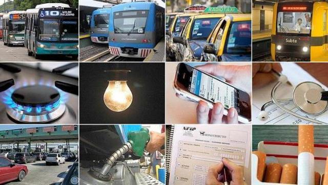 Los aumentos que vienen después de las elecciones: transporte, luz, gas, taxi, peajes y nafta