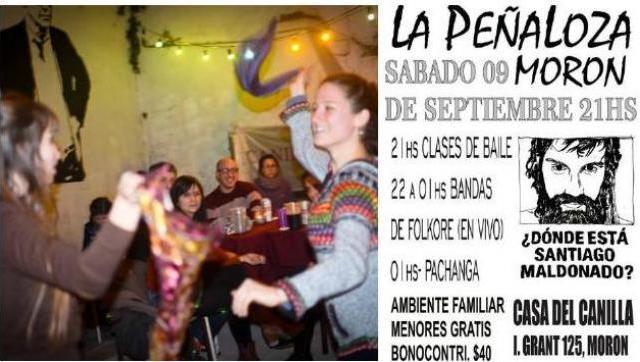 Este sábado, nueva edición de LA PEÑALOZA en Morón