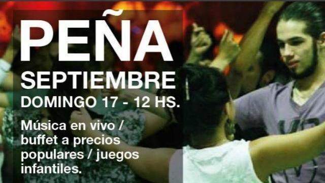 Este domingo, Peña Ciudadana en Castelar