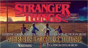 """En Morón proyectarán en pantalla grande el estreno de la nueva temporada de """"Stranger Things"""""""