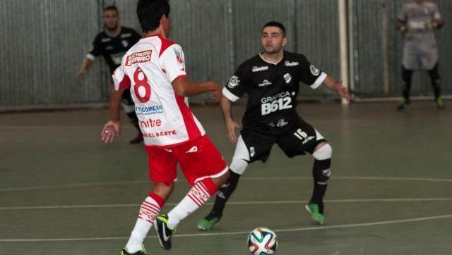 Futsal: el Gallo empató y respira un poco