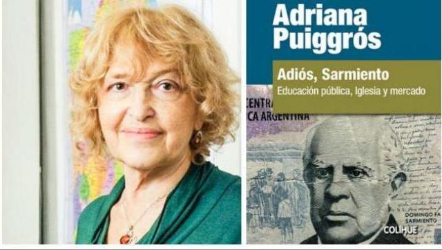 Esta tarde, Adriana Puiggros presenta su libro