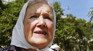 """Norita Cortiñas: """"Estamos con mucho dolor y mucha vergüenza de lo que hace el Gobierno. No tienen respeto"""""""