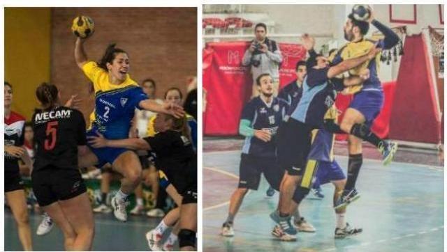 Gran momento del handball del Dorrego: nuevas victorias en damas y caballeros