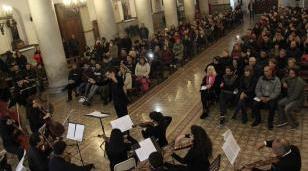 Este domingo, concierto en la Catedral de la Orquesta Sinfónica del Ginastera