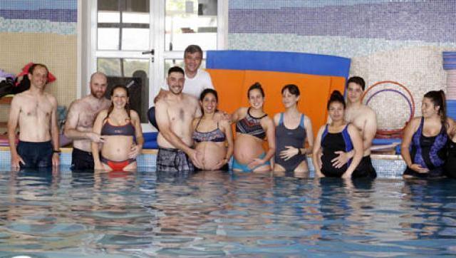 "Programa municipal de aquagym para embarazadas ""Panza al agua"""