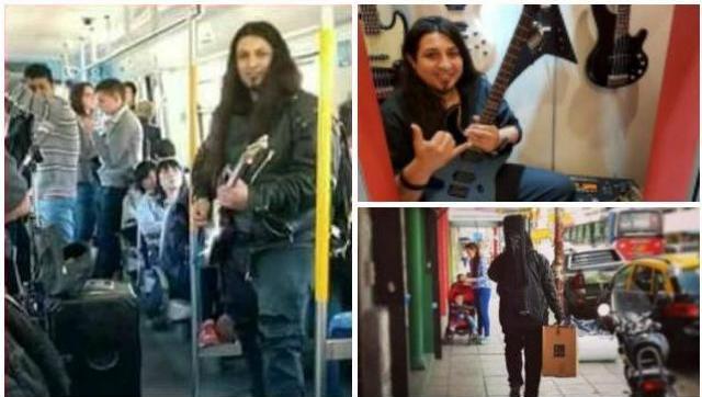 Le robaron sus instrumentos al guitarrero del Sarmiento: recibió donación para poder seguir trabajando y expresándose