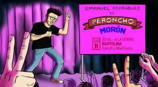 """Este sábado vuelve a Morón """"Peroncho"""": humor y amor político"""