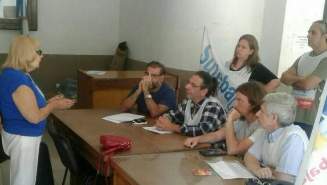 Docentes de Morón reclamaron por la crítica situación de la infraestructura escolar