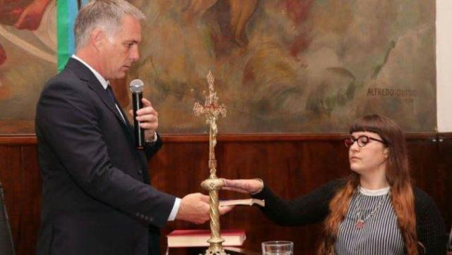 A las horas de jurar en su banca, la concejal Karina Godoy dejó el bloque por el que fue electa