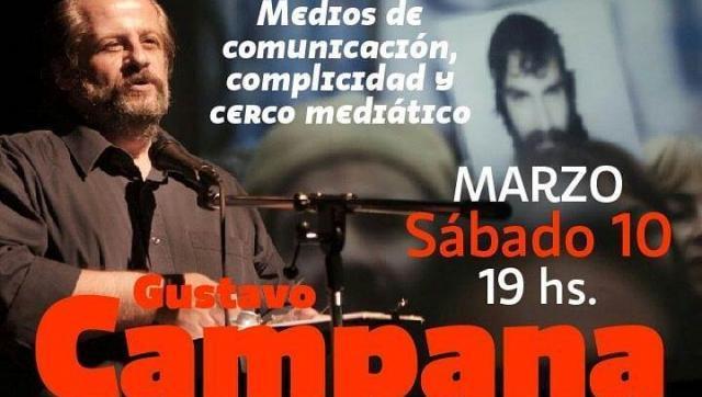 Gustavo Campana expondrá en Morón sobre