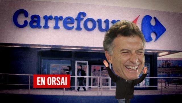 Carrefour presentó un procedimiento preventivo de crisis