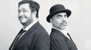 Hernan Casciari & Zambayonny se presentarán en el Teatro Morón