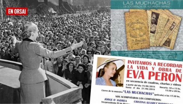 Encuentro para recordar a Eva Perón