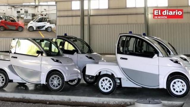 El primer auto eléctrico de la industria automotriz argentina se fabrica en Morón