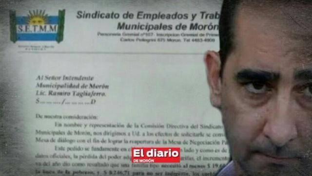Trabajadores municipales le exigen a Tagliaferro la reapertura de paritarias