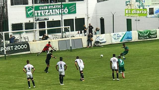 Ituzaingó venció al Deportivo Armenio en el partido que dio comienzo al torneo
