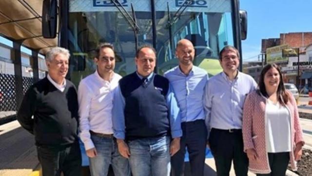 La empresa que hace el Metrobus de Tagliaferro está acusada en la causa de las fotocopias de Bonadío