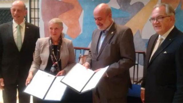 La UNM se reunió con representantes de la Universidad Friedrich Schiller de Jena de Alemania