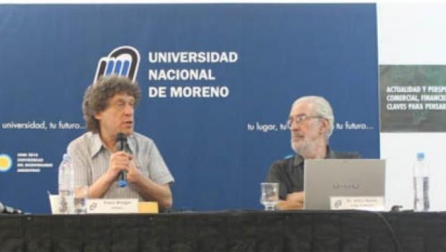 Especialistas argentinos y del exterior en el primer encuentro de Economía en la UNM