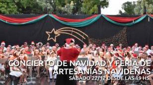 Concierto de Navidad y Feria de Artesanías Navideñas