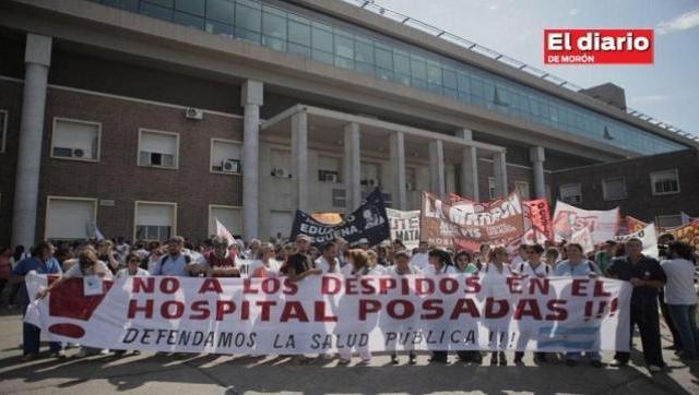 Salud a la deriva: nueva ola de despidos en el Hospital Posadas