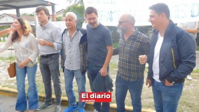 Morón: una protesta unió a los principales referentes del peronismo contra Tagliafierro