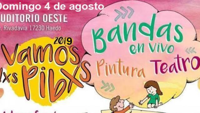 Se viene  6º edición del festival Vamos Lxs Pibxs