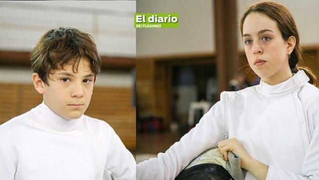 Bautista y Zoe compitieron en dos pruebas nacionales y clasificaron para los Sudamericanos