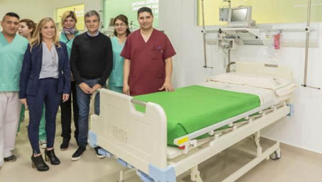 Nuevas unidades de internación y de terapia intensiva del Hospital Municipal San Bernardino