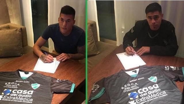 Firmaron y ya son refuerzos Adrián Acevedo y Jonathan Smith