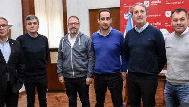 Tagliaferro, Descalzo, Zabaleta, Festa y Valenzuela  juntos por el Medio Ambiente