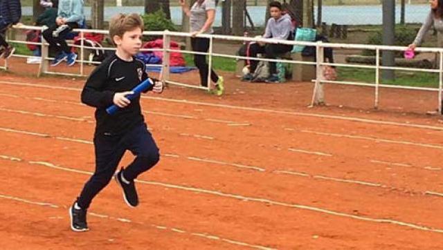 Cinco mini atletas dieron sus primeros pasos en el Gorki Grana en Morón