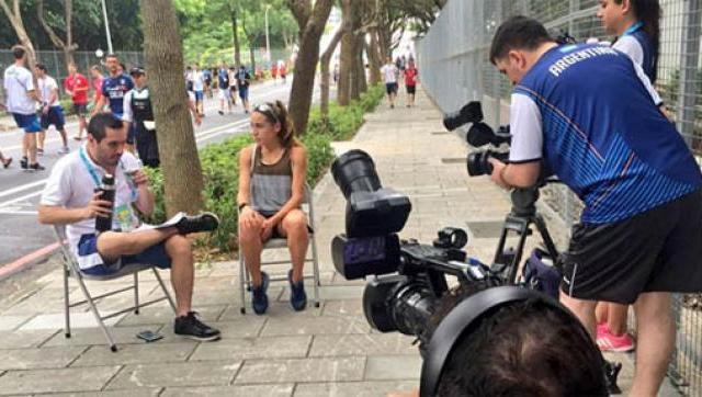 Cobertura especial de UNLaM TV en la Universiada de Nápoles