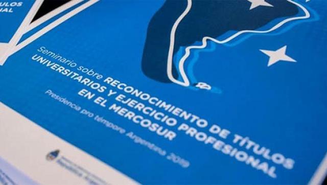 La UAI en el seminario de reconocimiento de títulos universitarios en el Mercosur