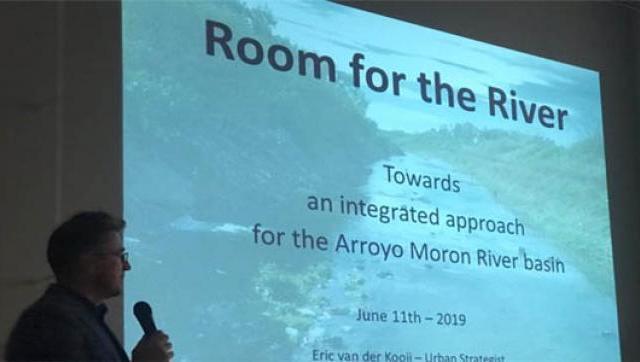 Proyecto internacional para limpiar el Arroyo Morón