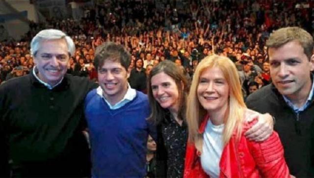 Alberto Fernández, Axel Kicillof y una recorrida de campaña en La Matanza