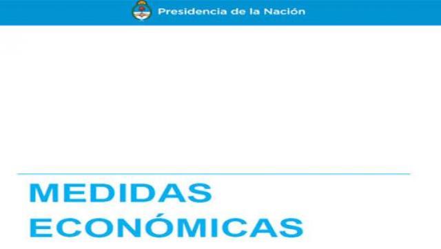 Macri anunció un paquete de medidas económicas a medias