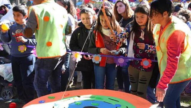 Festejos por el Día del Niño en Ituzaingó