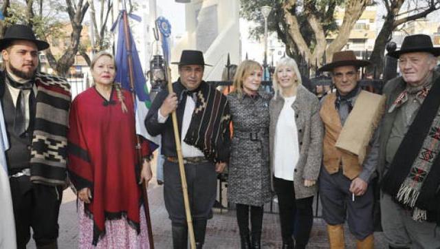 Homenaje al General José de San Martín en La Matanza
