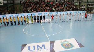 La UM apoyando al seleccionado argentino de futsal