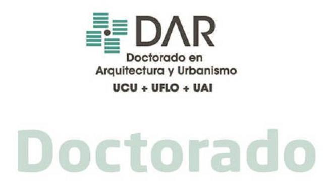 Inscripción para el Doctorado en arquitectura y urbanismo en la UAI