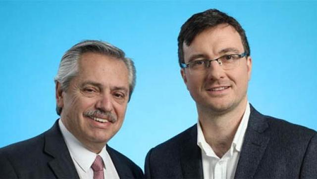 Lucas Ghi se reunió con Alberto Fernández