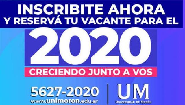 La UM abrió la inscripción para el 2020 – Mirá el video e inscribite