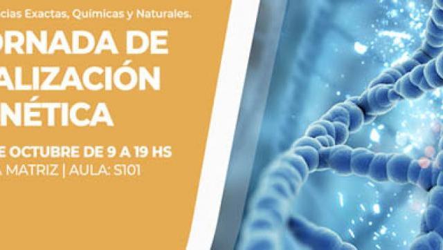 XIII Jornadas de Actualización en Genética
