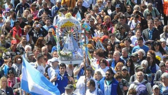El Municipio asistirá a caminantes en la Peregrinación a Luján