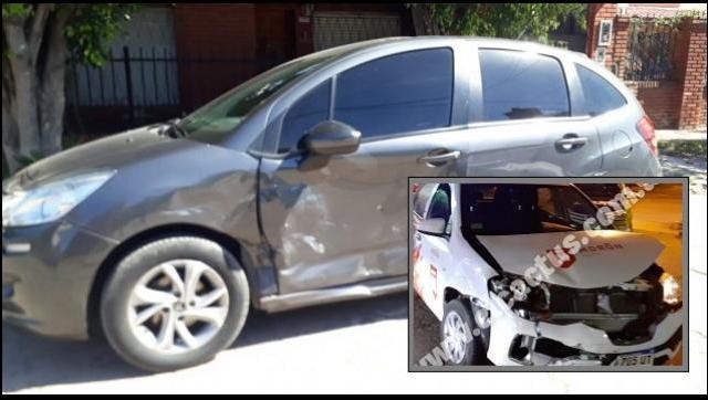 Un móvil del Municipio de Morón chocó en La Matanza en una supuesta persecución