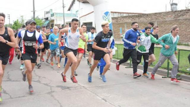 Cuarta corrida saludable en Ituzaingó