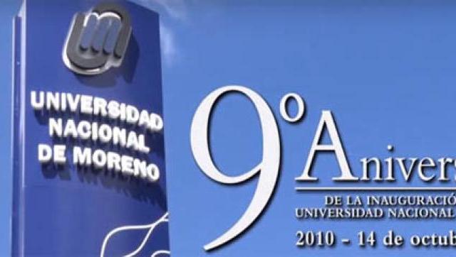 A 9 años de la inauguración de la Universidad Nacional de Moreno