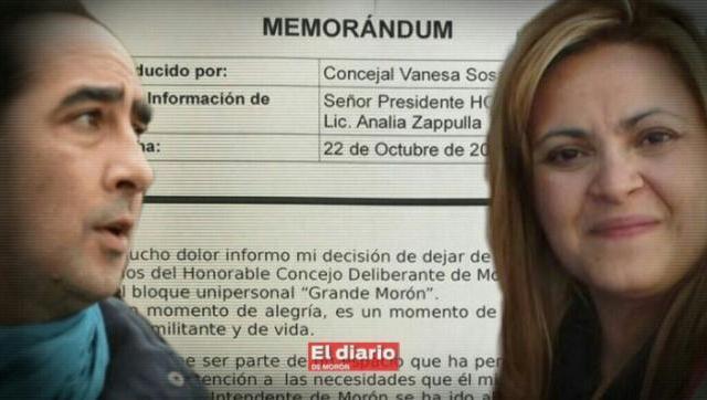 Sangría de Concejales cambiemistas en Morón: se van con graves acusaciones a Tagliaferro